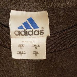 adidas Shirts - Adidas Men's size Large logo tee shirt